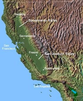 Californian Grape Regions